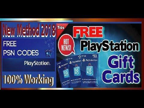🎁NeW UpDaTe 2018💯Free PSN Codes| How to get free PSN codes | Get