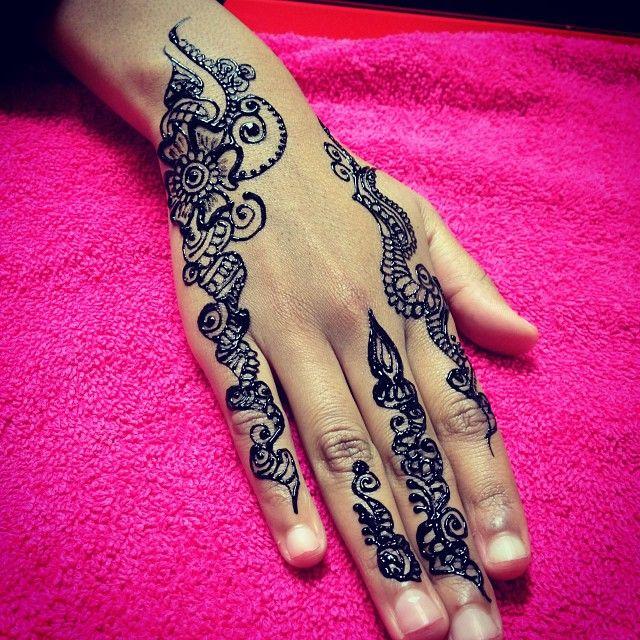 Henna Tattoo Yuma Az : Model henna mehndi hashtags makedes