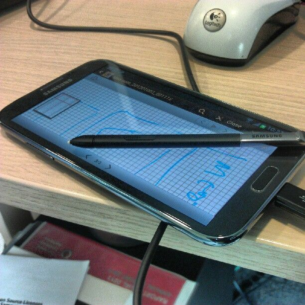 Samsung Glaxy Note II in Romania
