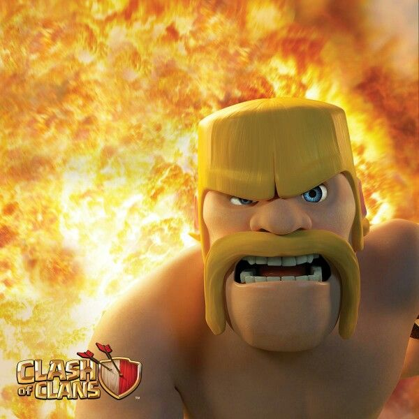 My favourite Clash of Clans picture!!! :) #Barbarian #ClashofClans