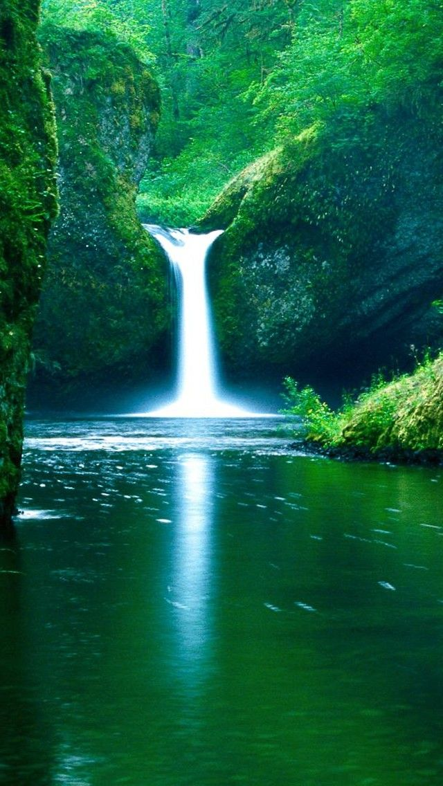 Waterfalls Wallpaper Hd 4k For Mobile Android Iphone Waterfall Wallpaper Beautiful Nature Wallpaper Hd Nature Wallpapers