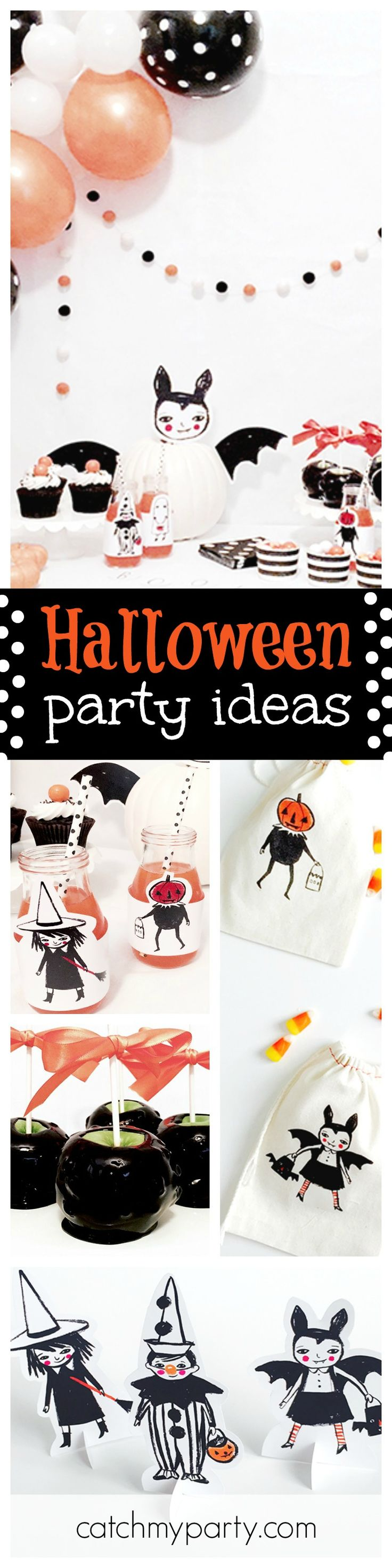 loving this not so scary halloween party for kids
