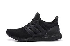 New Style Men's/Women's Adidas Running Ultra Boost Trainers Core Black B27171 Shoes UK £33.69 http://www.hotsportuka.com/