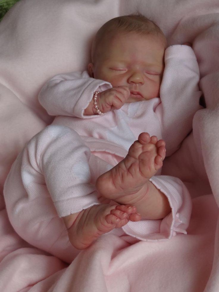 Baby Dust Nursery* Reborn Doll ~Naomi~ Donna Lee with Elisa Marx limbs   eBay