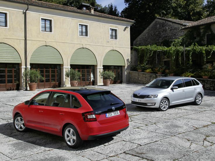 Skoda Rapid Spaceback (2013)