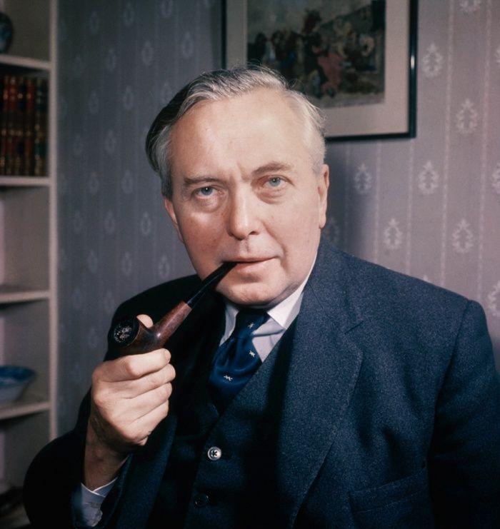 Harold Wilson, former prime minister, born in Huddersfield, Yorkshire    England