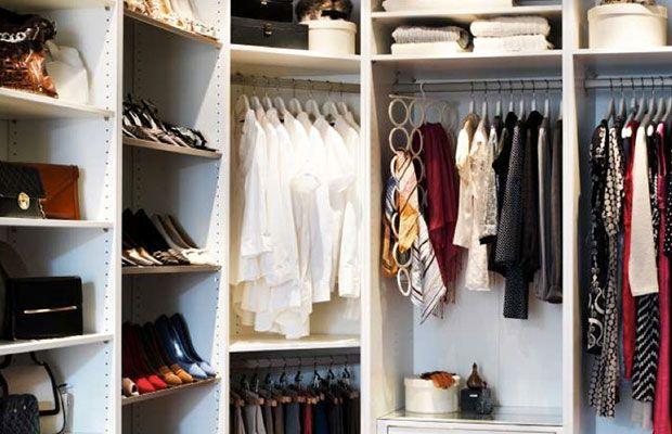 32 besten ordnung im kleiderschrank bilder auf pinterest begehbarer kleiderschrank wohnen und. Black Bedroom Furniture Sets. Home Design Ideas