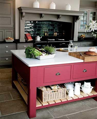 Quelle couleur mettre avec une cuisine grise cuisines kitchens pinterest - Quelle couleur mettre dans une cuisine ...