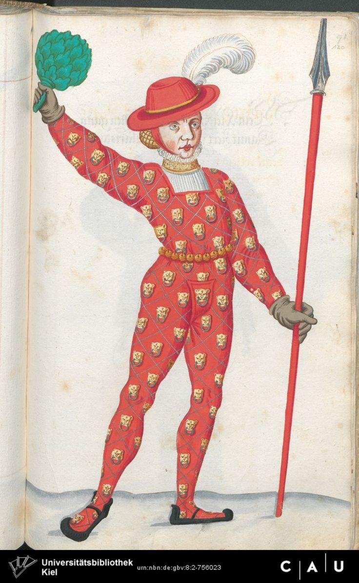 Nürnberger Schembart-Buch Erscheinungsjahr: 16XX  Cod. ms. KB 395  Folio 239