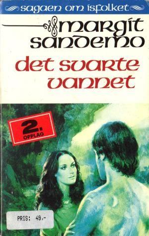 """""""Det svarte vannet"""" av Margit Sandemo"""