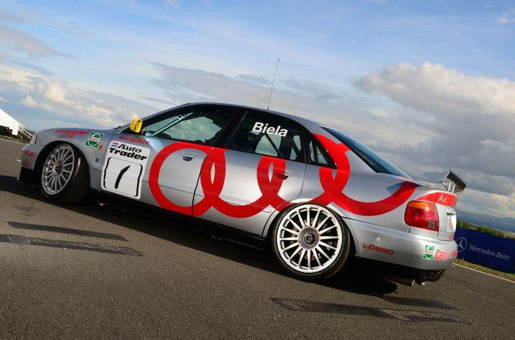 The legendary Frank Biela BTCC Audi A4 returns to Knockhill