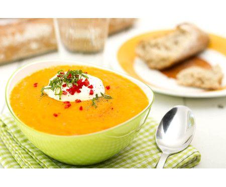 Morotssoppa med apelsin & kajennpeppar
