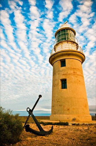 EXMOUTH LIGHTHOUSE IN WESTERN AUSTRALIA