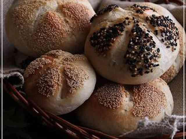 ライ麦配合~ドイツパン☆カイザーゼンメルの画像