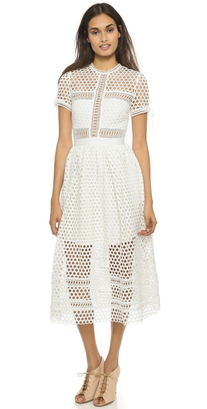 Self Portrait Panelled Dress | SHOPBOP SAVE UP TO 25% Use Code: EVENT17