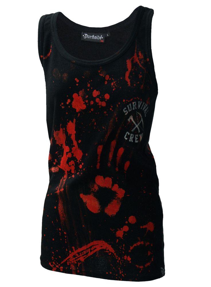 Darkside - Zombie Killer Black Beater Vest
