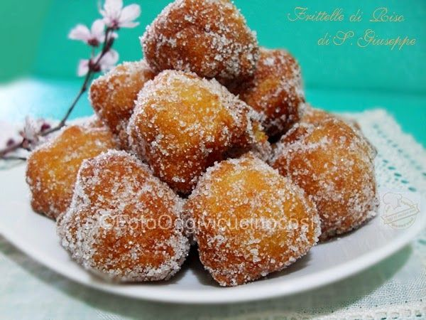 ©Oggi vi cucino così!: Frittelle di Riso di S.Giuseppe