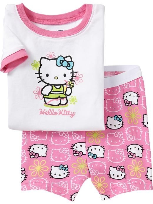 Girls pajamas set Hello Kitty Pajama suit clothing set Kids pijamas Children summer costume toddlers pyjamas 2-7Y for girls set♦️ SMS - F A S H I O N  http://www.sms.hr/products/girls-pajamas-set-hello-kitty-pajama-suit-clothing-set-kids-pijamas-children-summer-costume-toddlers-pyjamas-2-7y-for-girls-set/ US $6.29