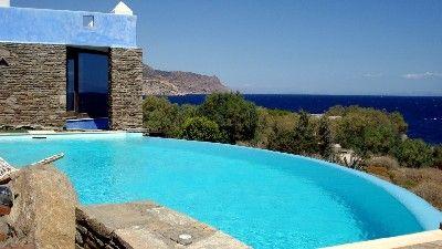 Semesterbostäder och villa Lavrion, Grekland | 5 sovrum, 12 sovplatser - Lyx Seaside Villa nära Aten, Attica, Grekland