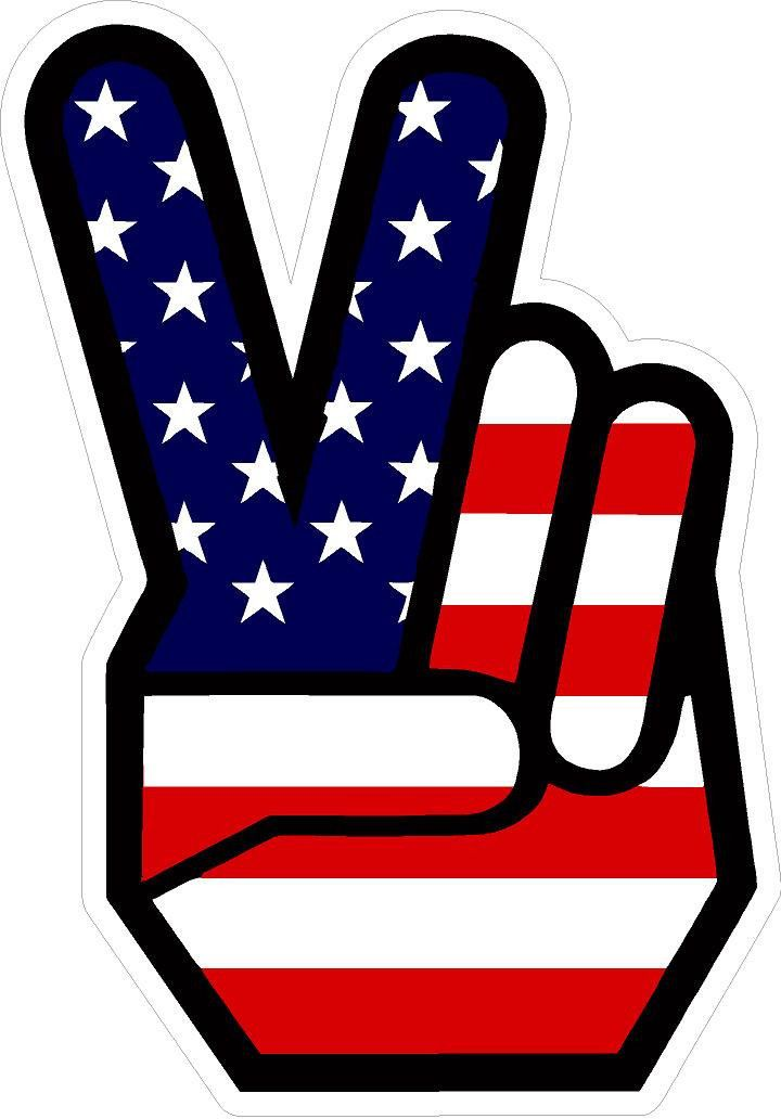 593 Peace Sign Hand Hippy 60 S 70 S No War Hippie Decal Sticker Hippie Decals Hippie Sticker Peace Sign Hand