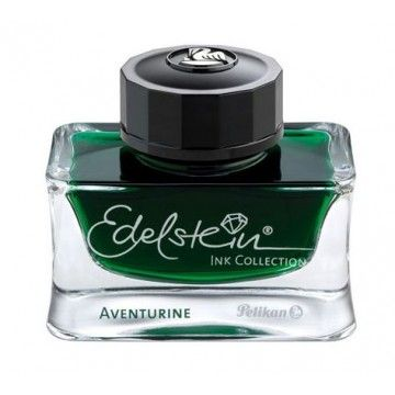I found some amazing ink. need to get the fountain pen out! Pelikan Edelstein Fountain Pen Ink - Aventurine Green