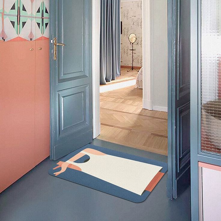 Great For Thin Bathroom Anti Slip Rug, Thin Bathroom Rugs