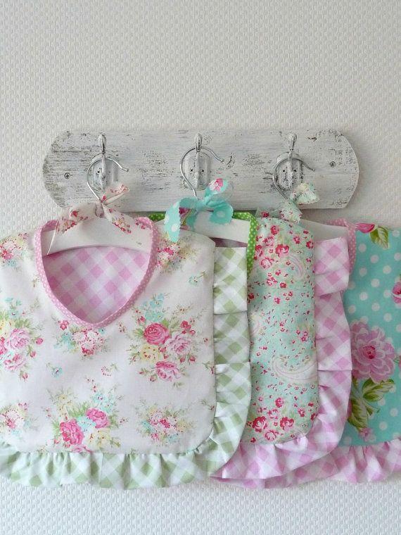 Ruffle Peg Bag. Clothespin Bag. Premium Cotton by PeriDotbyDuni