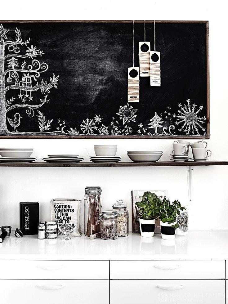 decordemon: A black & white apartment in Finland by Krista Keltanen Photography