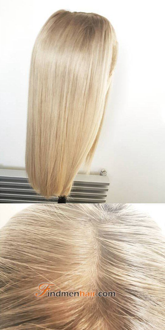Icy Blondeplatinum Blondebest Clip In Wig Toppers For Women With