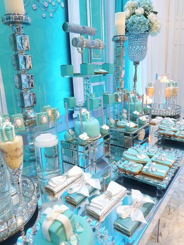 Tiffany Baby Shower Ideas