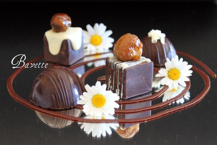 Bombones dulces y salados