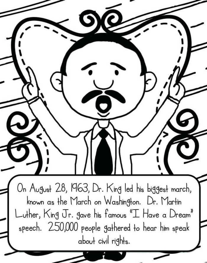 - Martin Luther King Jr Day Coloring Pages In 2020 Martin Luther King  Worksheets, Martin Luther King Jr Worksheets, Martin Luther King Jr Crafts