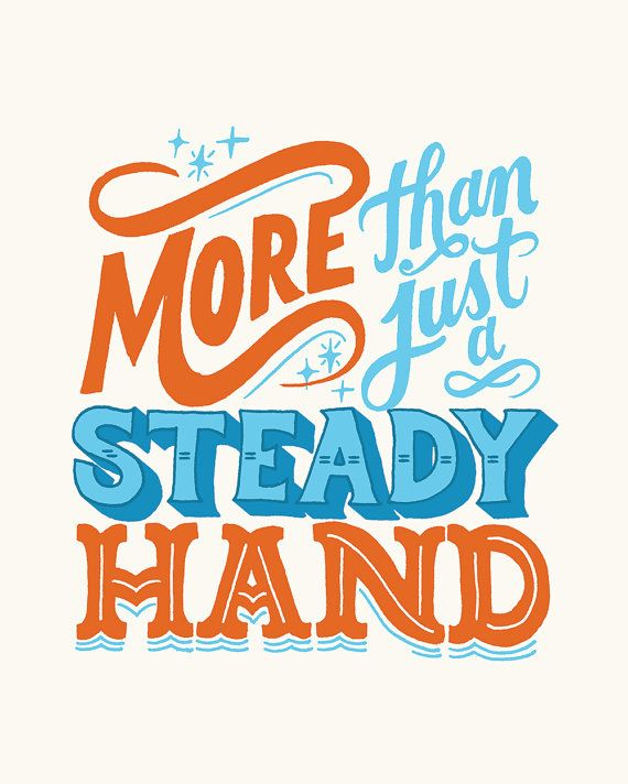 Lettering is hand drawn by Mary Kate McDevitt. 8 x 10 Giclee print on Moab Legion Paper    Ships flat Thanks for looking
