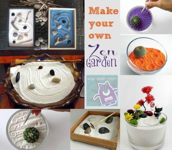 pinterest'teki 25'den fazla en iyi miniature zen garden fikri, Garten und Bauten