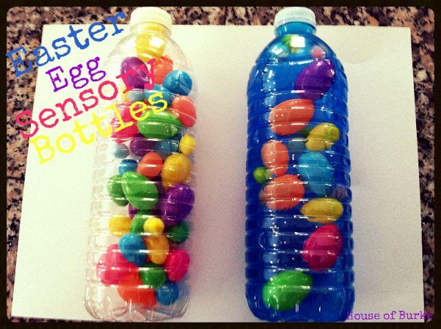House of Burke: Easter Egg Sensory Bottles