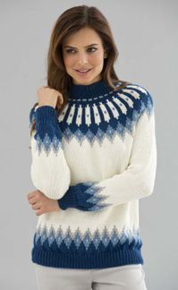Knit Classic Nordic Pullover