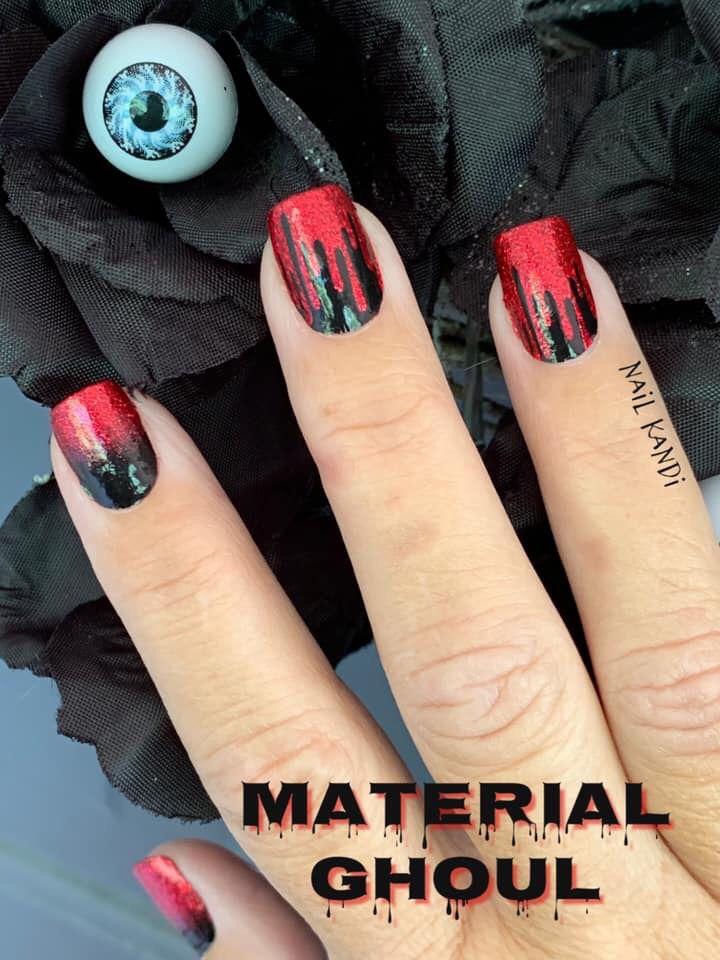 Amazing Diy Halloween Nails Black Halloween Nails Halloween Nails Diy Halloween Nails
