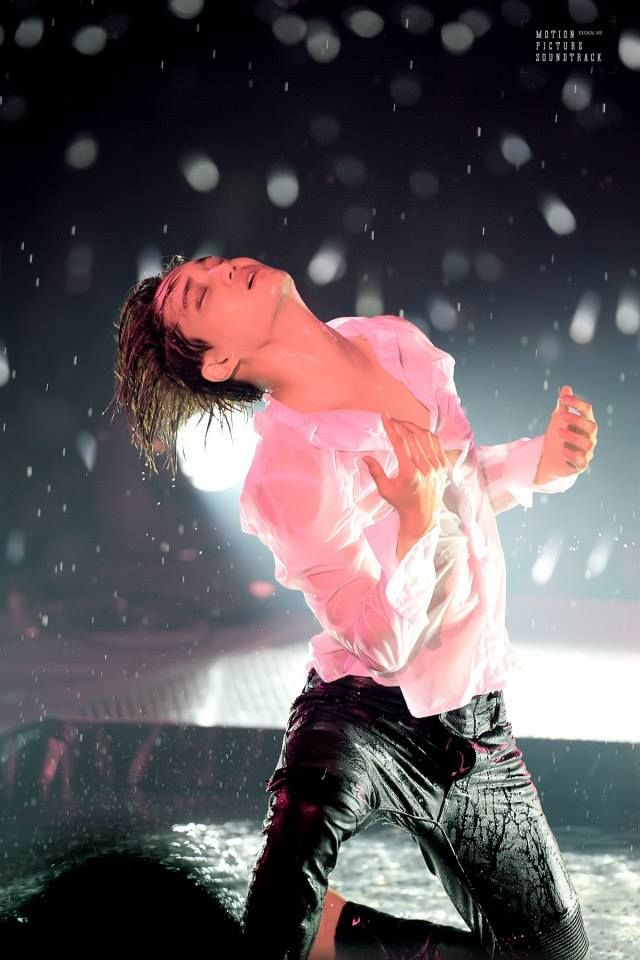 """Kai at """"The EXO'luXion"""" Concert in Seoul. Him & his performace.. so beautiful♥"""