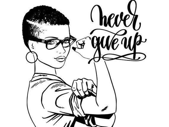 Afro Woman Power Life Quotes Nubian Princess Queen Afro Hair Etsy Black Girl Magic Art Black Girl Art Black Art Painting
