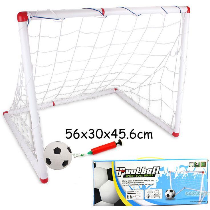 Football goal set outdoor fun sport toys balls plastic football toddler boy soccer ball pvc baby's bump ball brinquedos meninos
