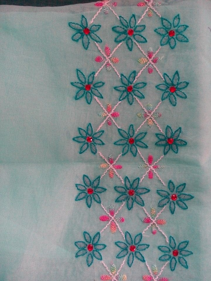 Lucknowi embroidery