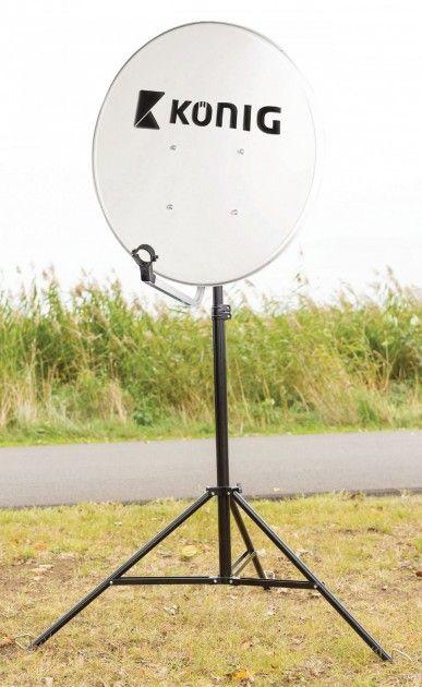Sammenleggbart stativ for paraboler opp til 100 cm | Satelittservice tilbyr bla. HDTV, DVD, hjemmekino, parabol, data, satelittutstyr