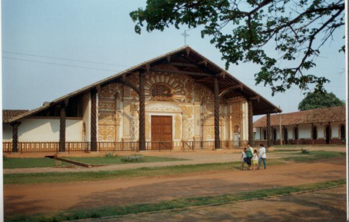 La Concepción, Iglesia Jesuita / Jesuit Church, Bolivia