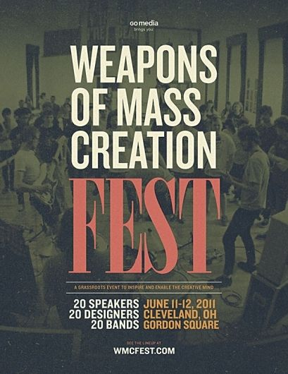 WMC Fest Web Banners | Weapons of Mass Creation Fest