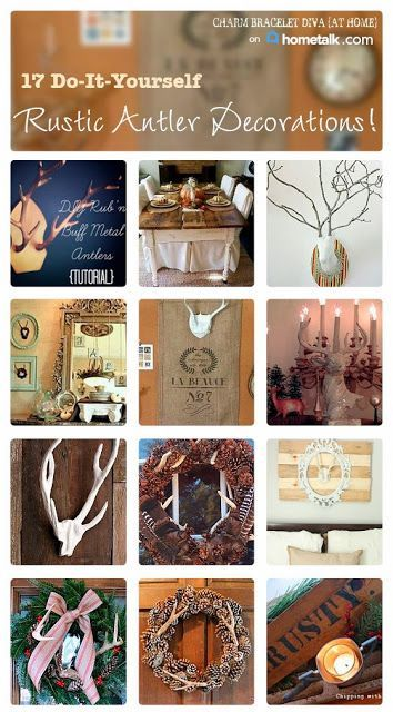 Ideas for decorating with antlers