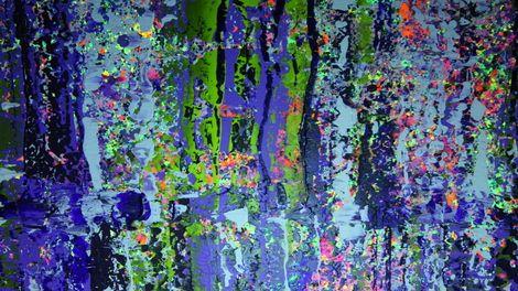 sebastian stankiewicz, Uv light-white acrylic painting on ArtStack #sebastian-stankiewicz #art
