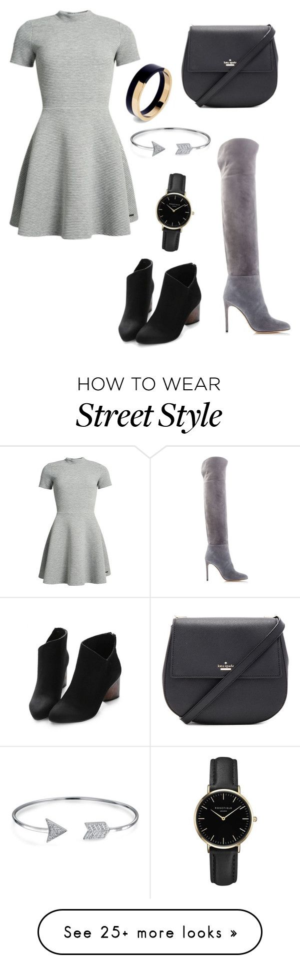"""street style"" by veriangi-dedej on Polyvore featuring Superdry, Kate Spade, Bling Jewelry, Sergio Rossi, ROSEFIELD and Marni"