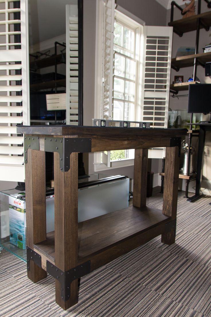 DIY Aquarium Stand                                                                                                                                                                                 More