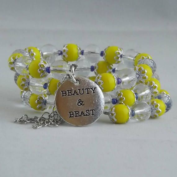 Beauty and the Beast inspired bracelet by BelairDesignsStudio  Show some love and RePin!