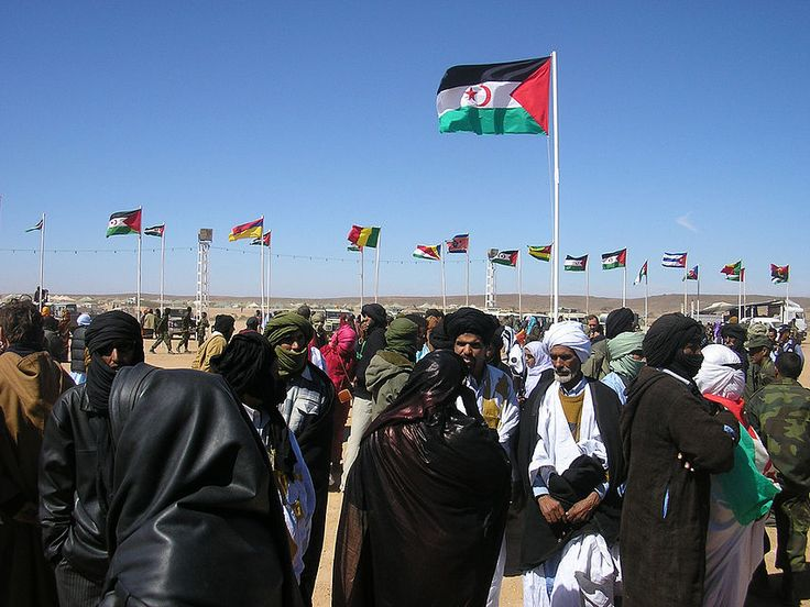 Commemoration of the 30th independence day in Tifariti, Liberated Territories, Western Sahara